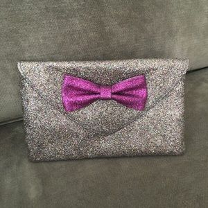 Miss Albright sparkly clutch